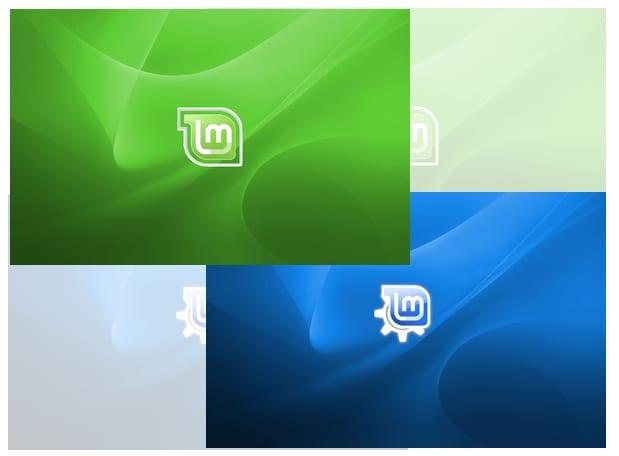 2 fondos muy bonitos para Linux Mint
