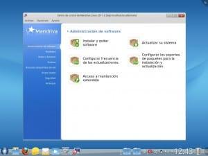 Centro software Mandriva