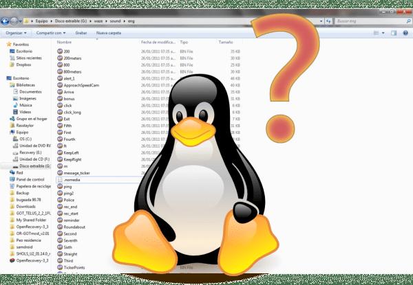 Carpetas Linux
