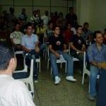 Juan Pablo dando conferencia de CMS (Foto 1)