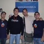 Elav con chicos de Firefoxmanía (Foto 1)