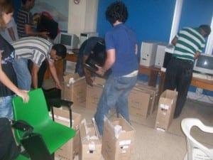 Llegaron las PCs para reinstalar (Foto 1)