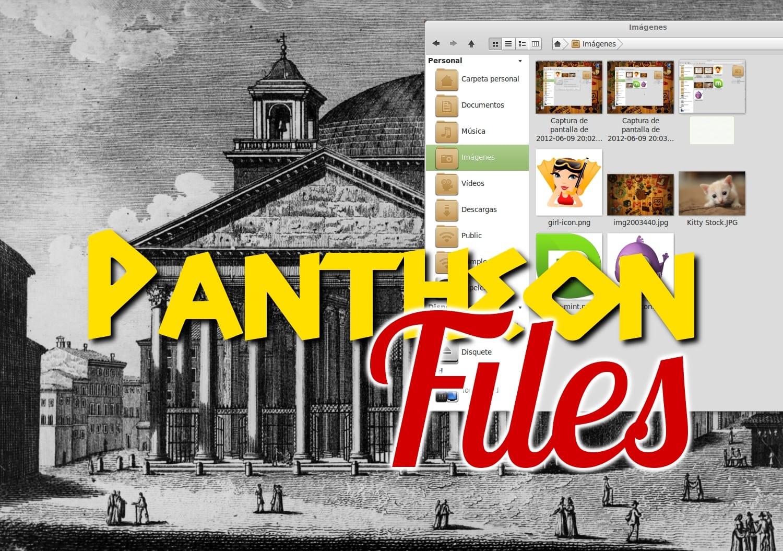 Pantheon-Engraving