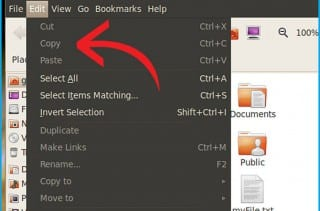 copiar archivos