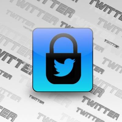 Candadado de Twitter