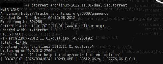 torrent-archlinux-terminal