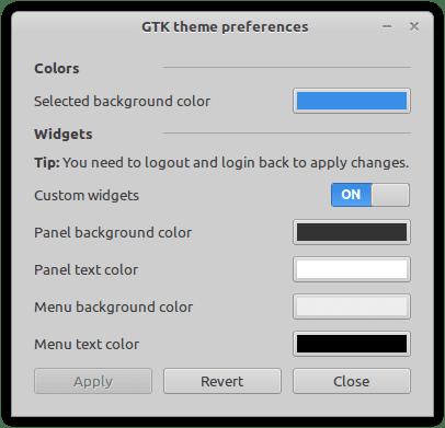 gtk-theme-config