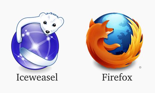 Ice weasel vs firefox browser