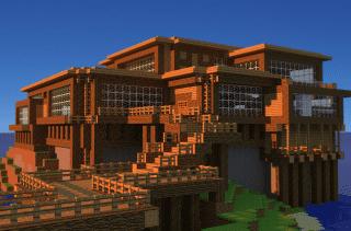 Minecraft con mods cinematográficos
