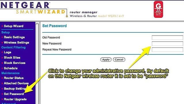 Netgear-router-screenshot
