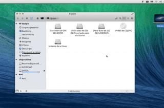 Escritorio de Ubuntu 12.04
