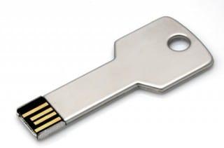 usar mi usb como llave