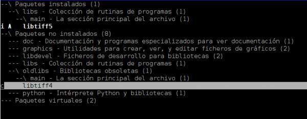 Instalar Scribus en Debian: Libff4 Obsoleta