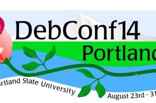 DebConf14 Logo