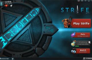 Strife - Interaz proncipal