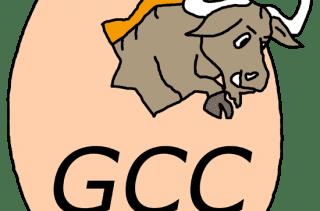 Es el logo de gcc.