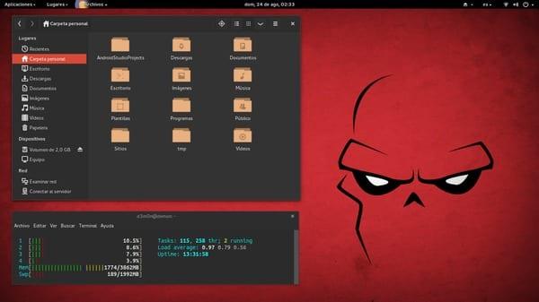 OS: #Ubuntu Desktop: Gnome theme: Numix Icons:Numix-Circle