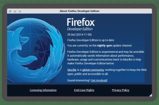 Firefox Developer Edition2