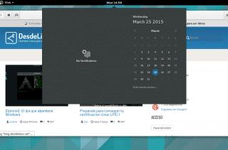 GNOME 3.16