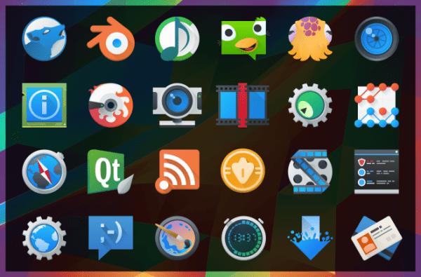 Plasma 5.4 Icons