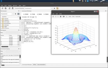 GNU Octave graph