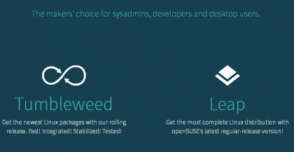 OpenSUSE Tumbleweed y Leap